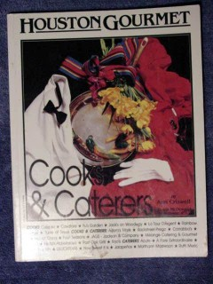 houston gourmet cooks and caterers tx ann criswell signed book