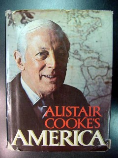 alistair cookes america photos paintings cartoons drawings book