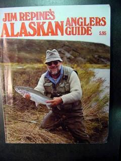 alaskan anglers guide jim repine fishing sportfish book