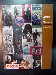 century of discovery exxon album employee 100th anniversary book