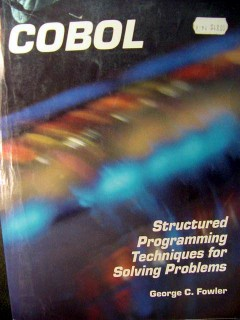 cobol structured programming techniques george fowler book