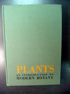 plants introduction to modern botany greulach adams book