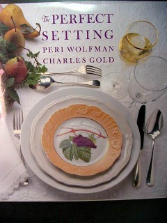 perfect setting wolfmand gold simple elegant table catering book