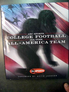 abc sports college football all time america team 2000 book
