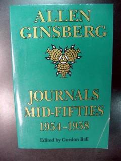 allen ginsberg journals mid fifties 1954-1958 poet book
