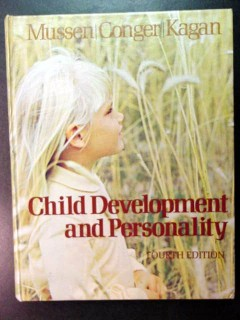 child development and personality mussen conger kagan book
