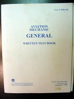 aviation mechanic general written test faa book