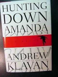 hunting down amanda andrew klavan novel 1st edition book