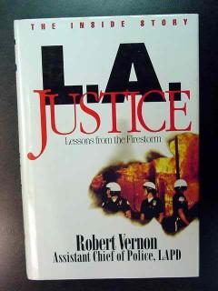 la justice lessons from firestorm rodney king robert vernon book