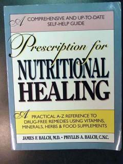 prescription for nutritional healing james falch health book