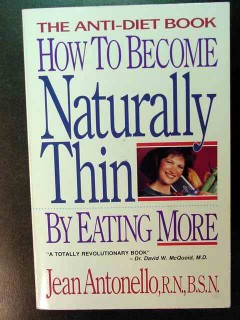 how to become naturally thin by eating more jean antonello book