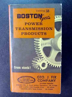 boston power transmission products catalog 58 book