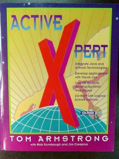 active xpert tom armstrong activex book with cd