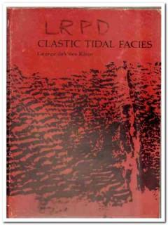 clastic tidal facies george devries klein book