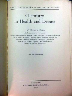 chemistry in health and disease harry biddle vintage medical book