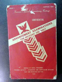 advancement examinations seaman special commissary usn book