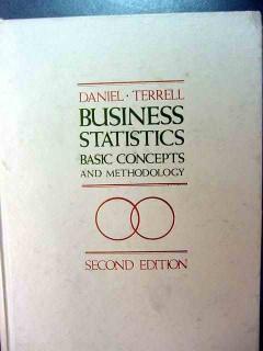 business statistics concepts method study guide daniel terrell 2 books