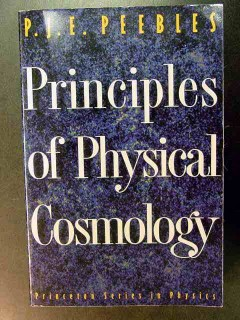 principles of physical cosmology by pje pebbles book
