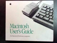 macintosh users guide performa apple computer book