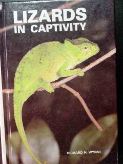 lizards in captivity richard wynne reptile book