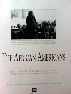 african americans charles collins david cohen black americana book