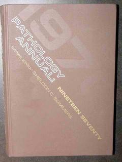pathology annual vol 5 1970 vintage medical book