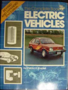 complete book of electric vehicles sheldon shacket 1981 guide
