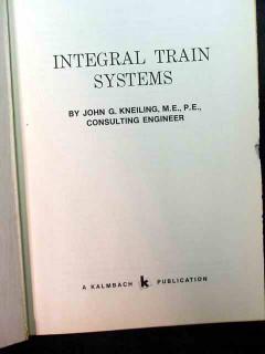 integral train systems john kneiling rail cars terminal design book