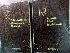 private pilot maneuvers manual and workbook sanderson 2 books