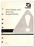 pilot manuals safety skyhawk manual 1980 2 books