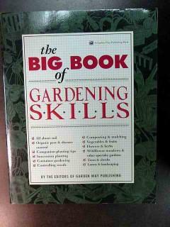 big book of gardening skills mulch landscape flowers trees shrubs