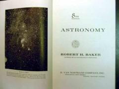 astronomy by robert baker book