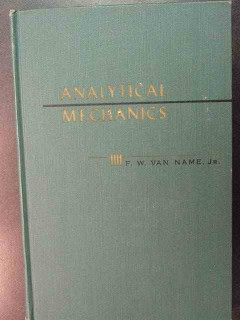 analytical mechanics by fw van name physics book