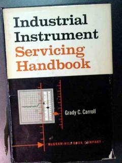 industrial instrument serving handbook grady carroll vintage book