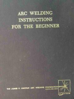 arc welding instructions for the beginner by ha sosnin book