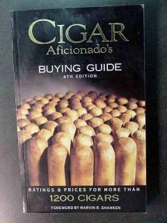 cigar aficionados buying guide marvin shanken book