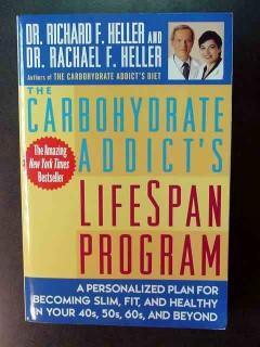 carbohydrate addicts lifespan program richard rachael heller book