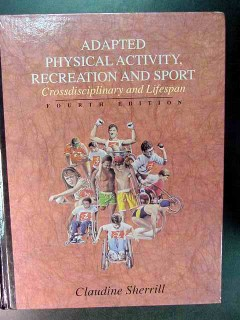 adapted physical activity recreation and sport claudine sherrill book