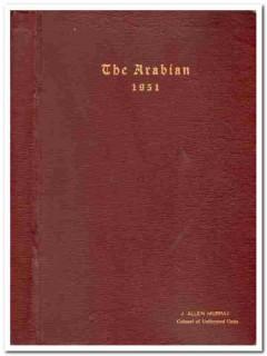 arabian shriners arabia temple houston 1951 bound magazine year book
