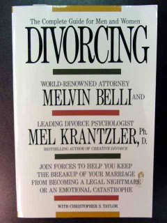 complete guide for men and women divorcing belli krantzler book