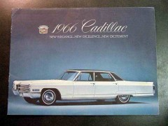 cadillac 1966 original dealer sales brochure
