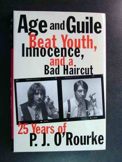 age and guile beat youth innocence by pj orourke book