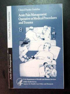 acute pain management trauma medical book