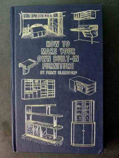 how to make your own built in furniture percy blandford book