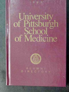 university of pittsburgh school of medicine 1993 alumni directory