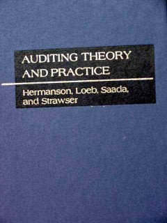 auditing theory and practice hermanson loeb saada strawser book