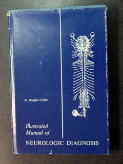 manual neurologic diagnosis douglas collins vintage medical book