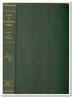 plastic reconstructive surgery earl padgett vintage medical book