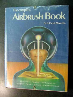 complete airbrush book by ralph maurello visual instruction course