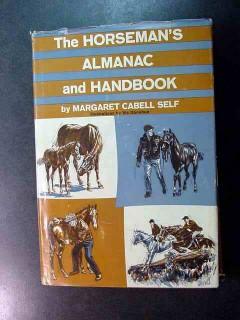 horsemans almanac handbook margaret cabell self horse book